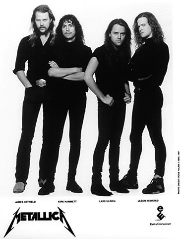 Metallica Promo Print  : 8x10 RC Print