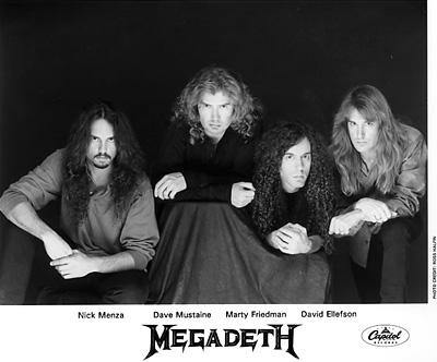 Megadeth Promo Print  : 8x10 RC Print