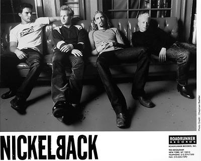 Nickelback Promo Print  : 8x10 RC Print