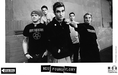 New Found Glory Promo Print  : 5x8 RC Print