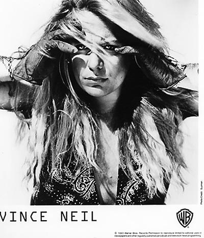 Vince Neil Promo Print  : 8x10 RC Print