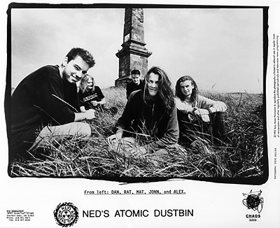Ned's Atomic Dustbin Promo Print  : 8x10 RC Print