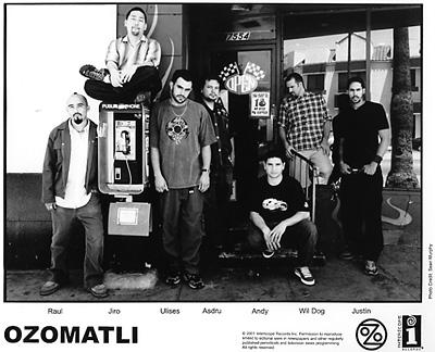 Ozomatli Promo Print  : 8x10 RC Print