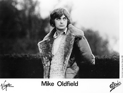 Mike Oldfield Promo Print  : 8x10 RC Print