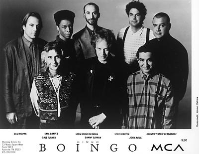Oingo Boingo Promo Print  : 8x10 RC Print