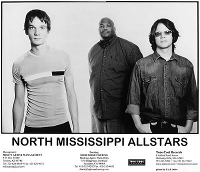 North Mississippi Allstars Promo Print  : 8x10 RC Print