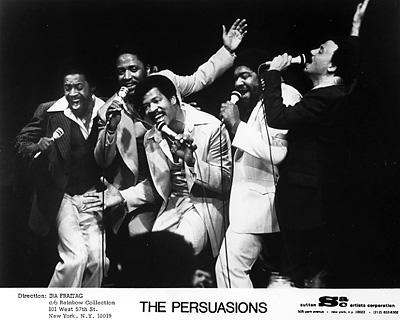 The Persuasions Promo Print  : 8x10 RC Print