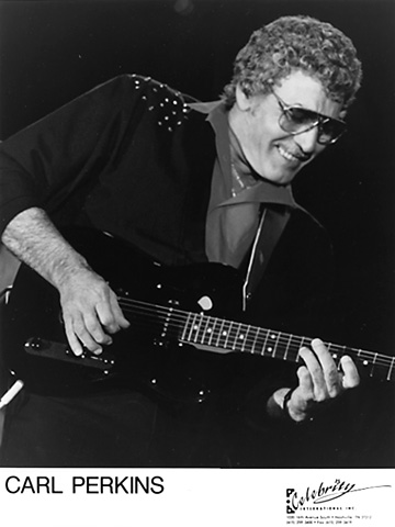 Carl Perkins Promo Print  : 8x10 RC Print