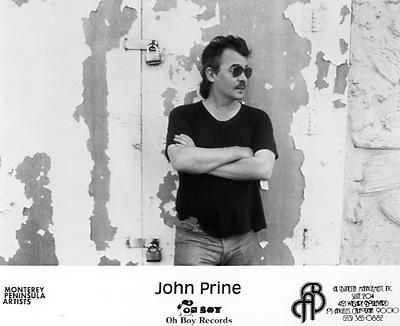 John Prine Promo Print  : 8x10 RC Print