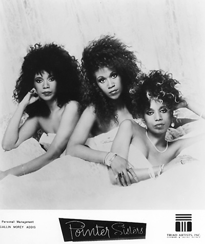 The Pointer Sisters Promo Print  : 8x10 RC Print