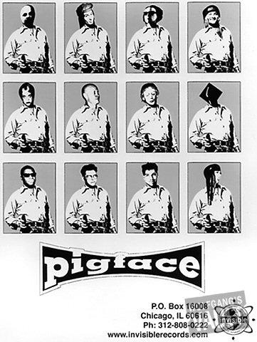 Pigface Promo Print  : 8x10 RC Print