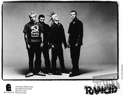 Rancid Promo Print  : 8x10 RC Print