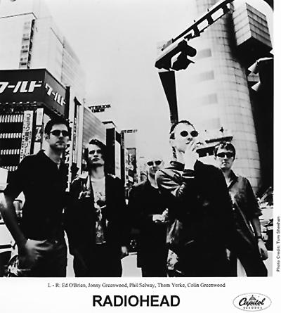 Radiohead Promo Print  : 8x10 RC Print