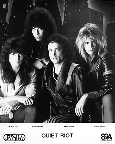 Quiet Riot Promo Print  : 8x10 RC Print