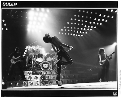 Queen Promo Print  : 8x10 RC Print