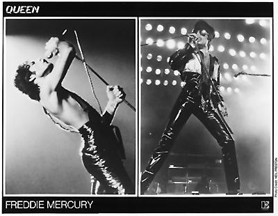 Freddie Mercury Promo Print  : 8x10 RC Print