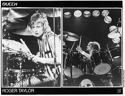 Roger Taylor Promo Print  : 8x10 RC Print
