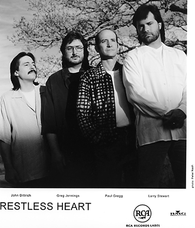 Restless Heart Promo Print  : 8x10 RC Print