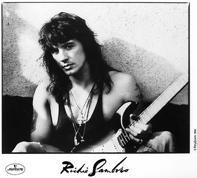 Richie Sambora Promo Print  : 8x10 RC Print