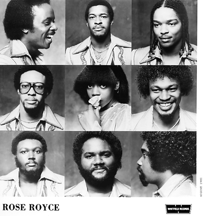 Rose Royce Promo Print  : 8x10 RC Print