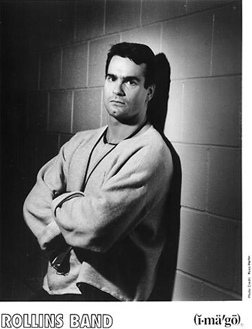 Henry Rollins Promo Print  : 8x10 RC Print