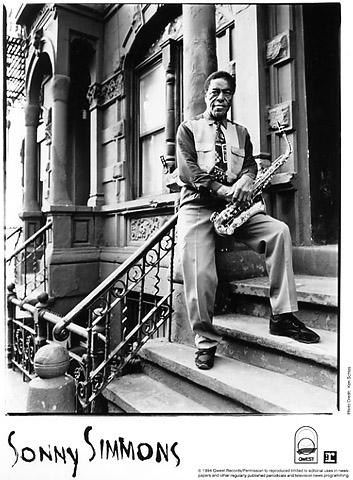 Sonny Simmons Promo Print  : 8x10 RC Print