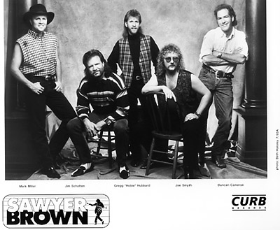 Sawyer Brown Promo Print  : 8x10 RC Print