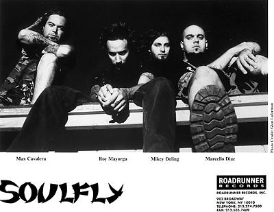 Soulfly Promo Print  : 8x10 RC Print