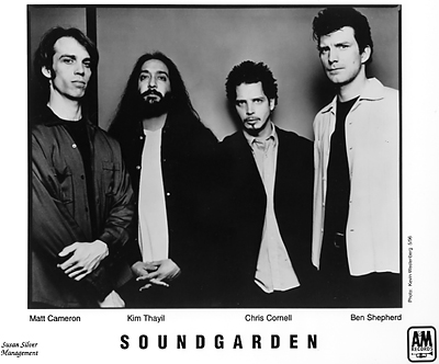 Soundgarden Promo Print  : 8x10 RC Print