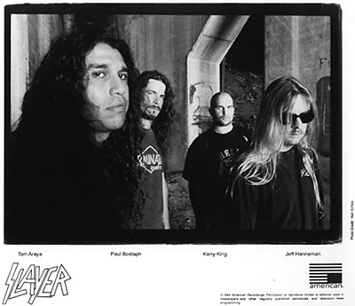 Slayer Promo Print  : 8x10 RC Print
