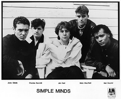 Simple Minds Promo Print  : 8x10 RC Print