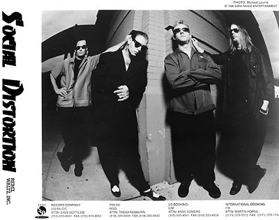 Social Distortion Promo Print  : 8x10 RC Print