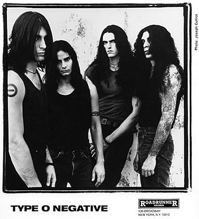 Type O Negative Promo Print  : 8x10 RC Print