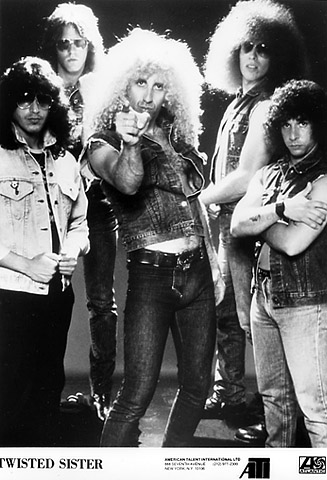 Twisted Sister Promo Print  : 5x7 RC Print
