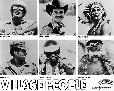 Village People Promo Print  : 8x10 RC Print