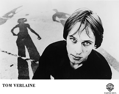 Tom Verlaine Promo Print  : 8x10 RC Print