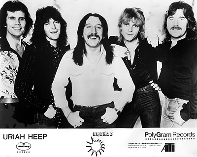 Uriah Heep Promo Print  : 8x10 RC Print