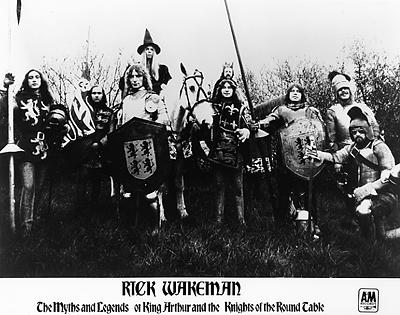 Rick Wakeman Promo Print  : 8x10 RC Print