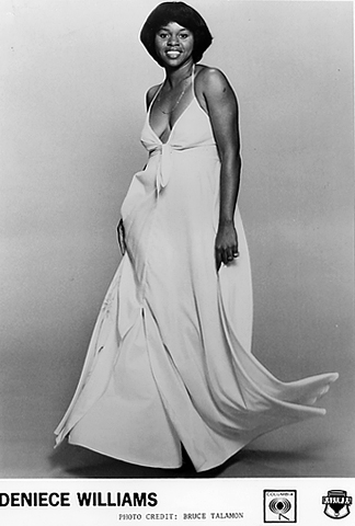 Deniece Williams Promo Print  : 8x10 RC Print