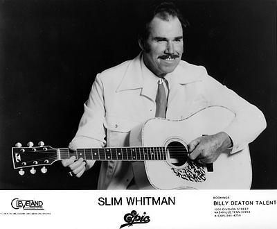 Slim Whitman Promo Print  : 8x10 RC Print