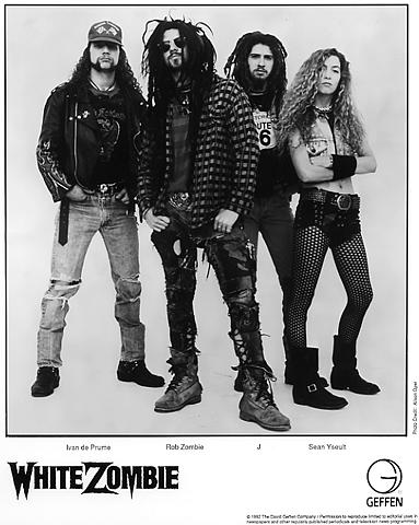 White Zombie Promo Print  : 8x10 RC Print