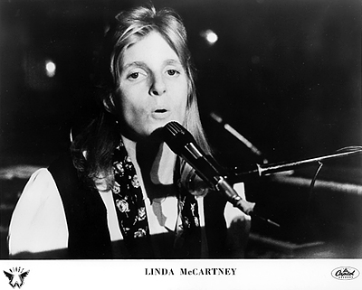 Linda McCartney Promo Print  : 8x10 RC Print