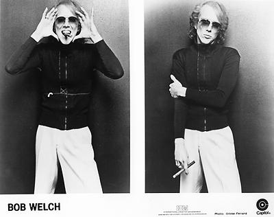 Bob Welch Promo Print  : 8x10 RC Print