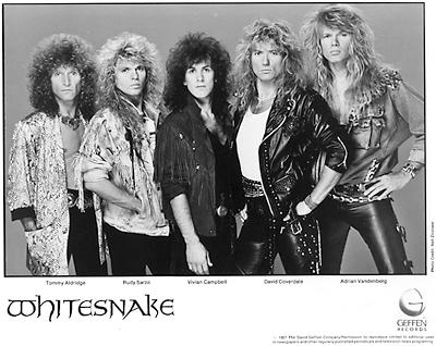 Whitesnake Promo Print  : 8x10 RC Print