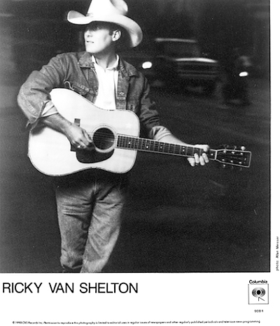 Ricky Van Shelton Promo Print  : 8x10 RC Print