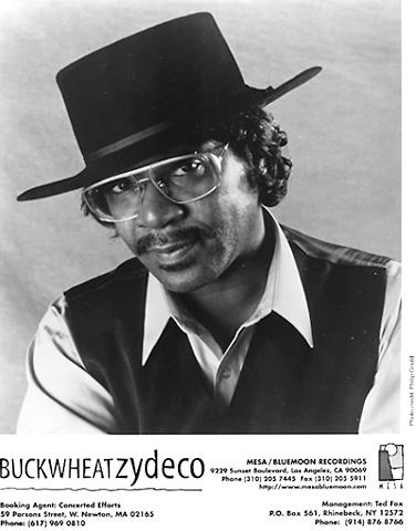 Buckwheat Zydeco Promo Print  : 8x10 RC Print