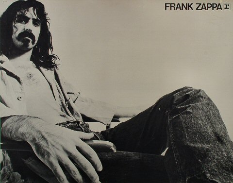 "Frank Zappa Poster  : 21 1/4"" x 27"""