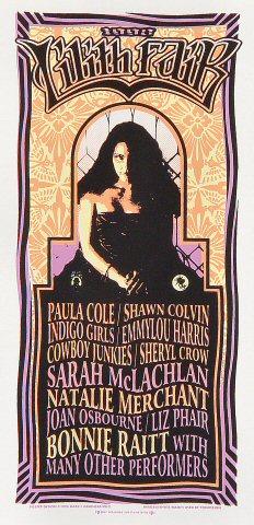 """Paula Cole Handbill  : 4 1/4"""" x 8 5/8"""""""
