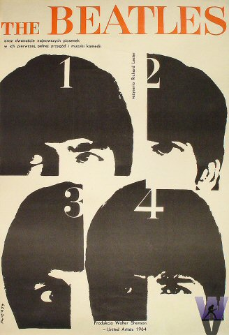 The Beatles Poster  : 22 1/2&quot; x 33&quot;