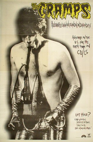 "The Cramps Poster  : 22 7/8"" x 34"""